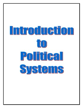 Introduction to Political Systems