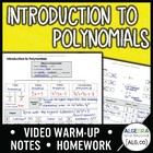 Introduction to Polynomials Lesson
