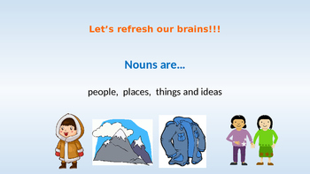Introduction to Possessive Nouns (Winter animal themed)