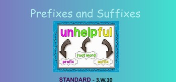 Introduction to Prefixes and Suffixes