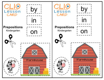 Prepositions Video Activity
