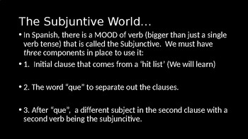 Introduction to Present Subjunctive