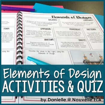 Introduction to Principles of Design and Elements of Art - Media Literacy Lesson