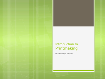 Introduction to Print Making: Lino Prints