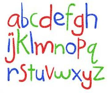 Introduction to Printing Letters Smartboard File