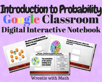 Introduction to Probability – Digital Interactive Notebook