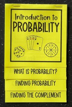 Introduction to Probability (Foldable)