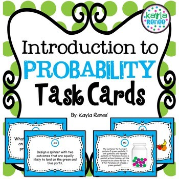 Introduction to Probability Task Cards: 7.SP.5