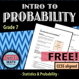 Introduction to Probability Worksheet