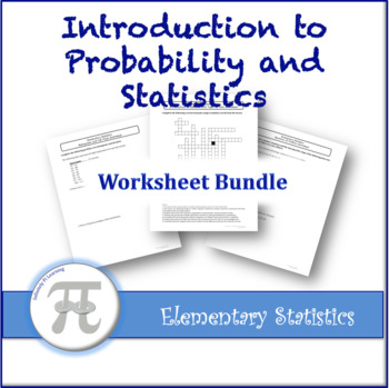 Introduction To Probability And Statistics Worksheet Bundle By