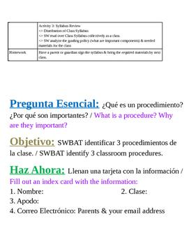 Introduction to Procedures