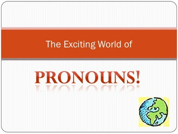 Introduction to Pronouns