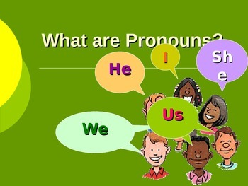 Introduction to Pronouns PPT