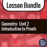 Introduction to Proofs Unit Bundle