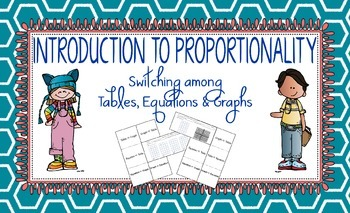Introduction to Proportionality: Switching among Tables, Equations, and Graphs
