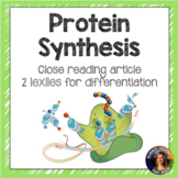 Introduction to Protein Synthesis Article
