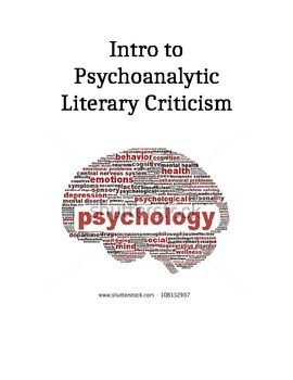 Introduction to Psychoanalytic Criticism Unit (part 4 of 6)