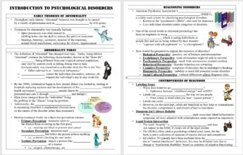 Introduction to Psychological Disorders PowerPoint