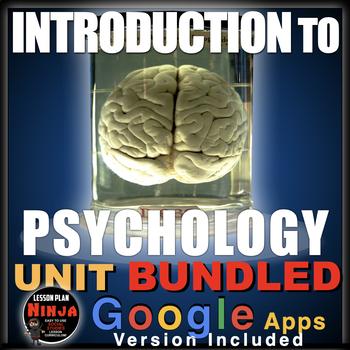 Introduction to Psychology Unit: PPTs, Worksheets, Lesson Plans, Kahoot! + Test