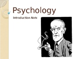 Introduction to Psychology PowerPoint