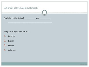 Introduction to Psychology and Perspectives