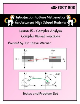 Introduction to Pure Mathematics - Lesson 15 - Complex Analysis - Functions