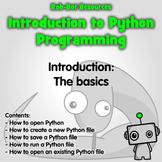 Introduction to Python Programming: The Basics