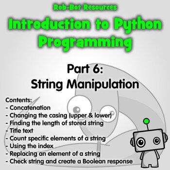Introduction to Python Programming Part 7: Manipulating String