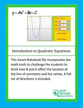 Algebra:  Introduction to Quadratic Equations - A and B