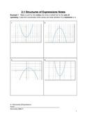 Introduction to Quadratics Complete Bundled Unit
