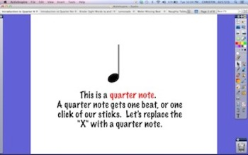 Introduction to Quarter Notes