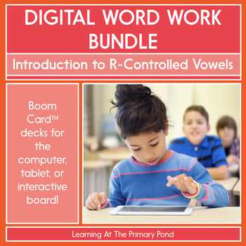 Introduction to R-Controlled Vowels - Digital Phonics Activities | BOOM Cards™