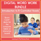Introduction to R-Controlled Vowels - Digital Phonics Acti