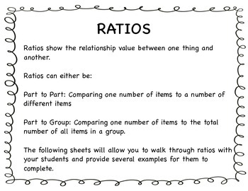 Introduction to Ratios