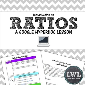 Introduction to Ratios HyperDoc