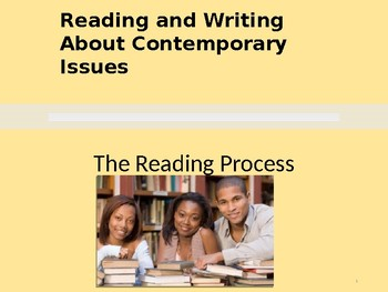 Introduction to Reading and Writing
