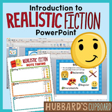 Introduction to Realistic Fiction Genre PPT Using Setting, Events, & Characters