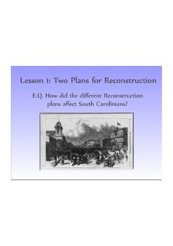 Introduction to Reconstruction in South Carolina