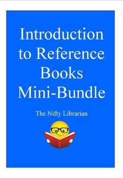 Introduction to Reference Books Mini-Bundle:  PowerPoint, Practice Cards
