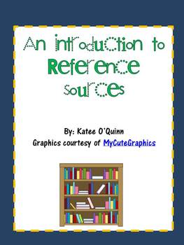 Introduction to Reference Sources