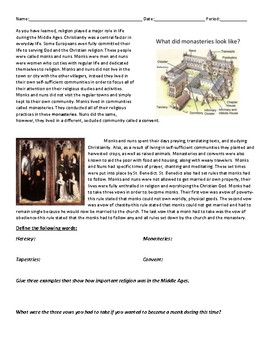Introduction to Religion in the Middle Ages