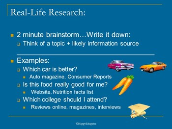 Introduction to Research PowerPoint