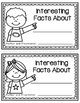 Introduction to Research - Student Created Interesting Facts Booklet