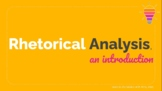 Introduction to Rhetorical Analysis