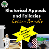 Rhetoric Lesson Bundle Appeals Fallacies Secondary Ethos P