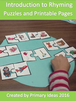Introduction to Rhyming: Puzzles and Printable Pages