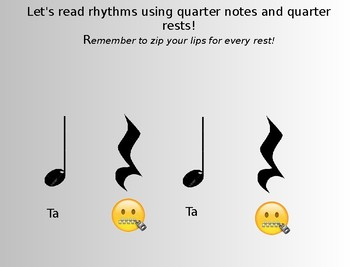 Introduction to Rhythm Reading (Ta and Ti Ti edition)