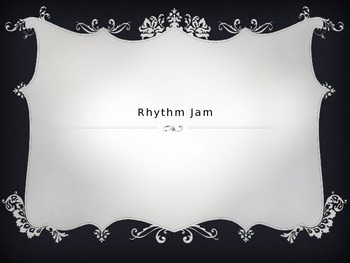 Introduction to Rhythm powerpoint