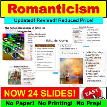 Romanticism: American Literature