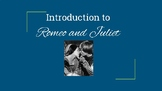 Introduction to Romeo & Juliet PowerPoint & Stations Activity Flipped Classroom